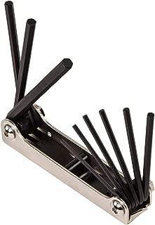 Klein Tools 70591 Folding Hex Key Set, Nine-Key, Inch Sizes