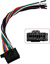 Wire Harness Replacement Harness Power Cord Harness Speaker Plug Compatible with Pioneer CDP1269, YDP5039, QDP3013 Speaker Plug (2010-2011)