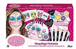 Ofertas Tienda de maquillaje: Este centro de maquillaje dispone de una gran variedad de accesorios. Tu hijo podrá aprender a hacer diferentes modelos en la máscara que se incluye con la ayuda de diferentes accesorios.Una vez los domine, él mismo podrá maquillarse para un cumpleañ...