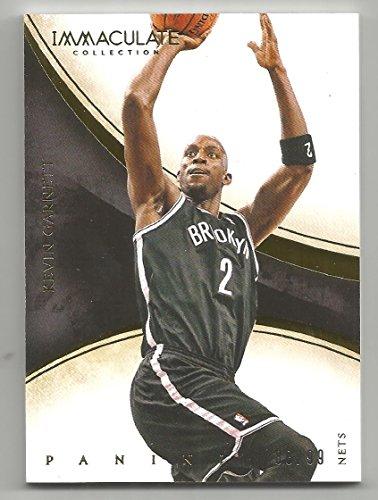 2013-14 Panini Immaculate Basketball Kevin Garnett Base Card # 80/99