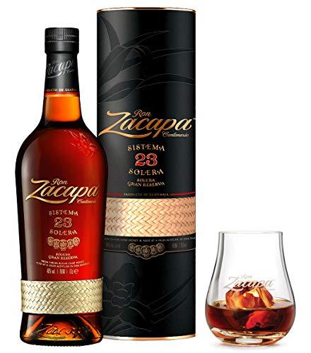 Rum Zacapa 23 Astucciato e Bicchiere originale serigrafato - 70 cl