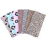7pcs 50X50cm Fabric Squares Bundles Leopard Print Fat