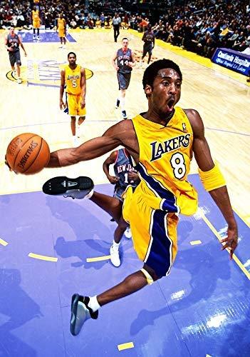 Póster de la NBA Los Angeles La Lagos de Baloncesto, 30 x 46 cm, 300 mm x 460 mm