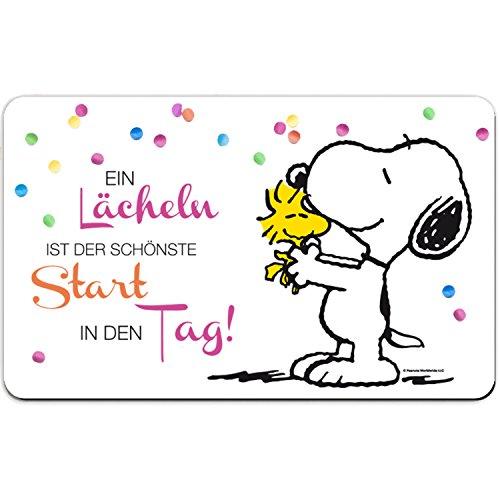PEANUTS Snoopy Collection – Brettchen EIN Lächeln 23,5 x 14,5 cm Frühstücksbrett