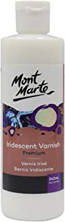 Mont Marte Premium Iridescent Varnish 8.1oz (240ml), Perfect for Acrylic Painting and Fluid Art