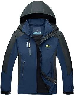MAGCOMSEN Men's Lightweight Windproof Jacket Spring Fall Hiking Running Jacket Hooded Raincoat Windbreaker