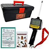 Dog Ovulation Detector,Canine Breeder Tester Artificial Insemination Dogs Breeding Machine,Convenient Formulate Mating Pregnancy Planning,with Detailed English manual and Premium storage box