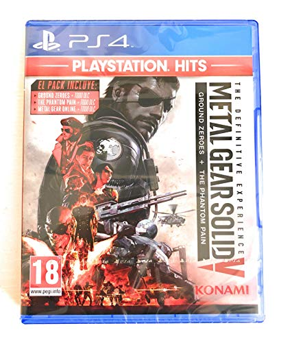 PS4, Juego Metal Gear Solid V: The Definitive Experience (Playstation 4)