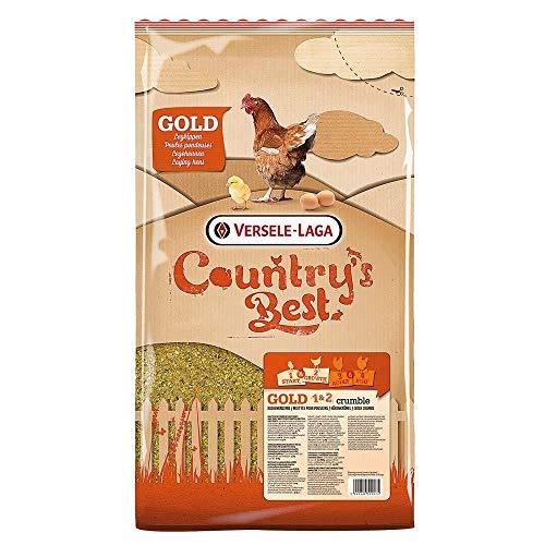 Versele Laga Countrys Best Gold 1 & 2 Crumble Hühnerfutter (5kg) (kann variieren)