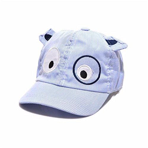 Vovotrade® Kids Boys Girls Cute Cartoon Dog Beret Hat Sun Hat Baseball Cap (Blue, free size)