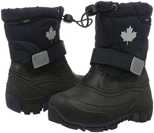 Canadians Unisex-Kinder Allwetterstiefel Schneestiefel, Blau (830 Navy), 32 EU - 7