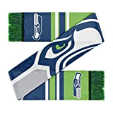 Forever Collectibles Seattle Seahawks Scarf Colourblock Big Logo -