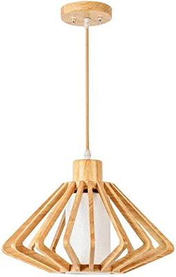 Lámpara de tatami de araña de madera Personalidad creativa Lámpara ...