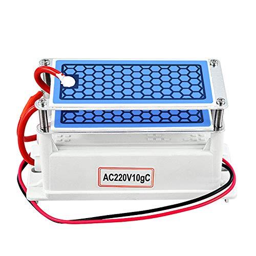 WETERS Luftreiniger, Ozon-Generator 220V 10G Startseite Luftreiniger Luftreiniger Mini Ozon Ozonizer Sterilisation Geruch,110v