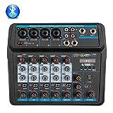 Best Usb Mixers - Depusheng U6 Sound Mixing Console Bluetooth USB Record Review