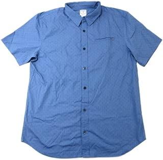 Mens Button Down Short Sleeve Flyer Shirt