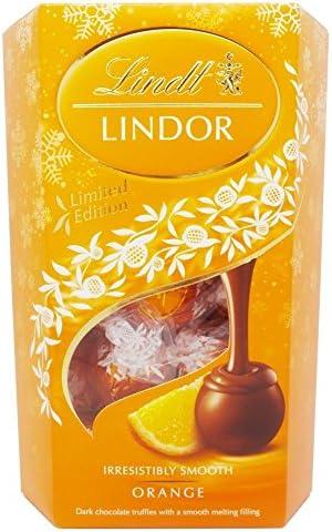 Lindt Lindor Orange Milk Chocolate Truffles 200G product image