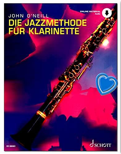 El método de jazz para clarinete – Escuela para clarinete con CD y pinza para partituras – Autor: John O'Neill