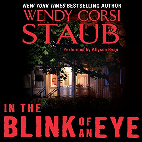In the Blink of an Eye audiobook cover art