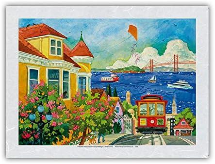 1着でも送料無料 安い Spirit of San Francisco - California Car Bay Golde Area Cable