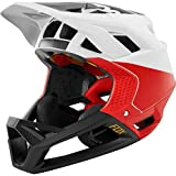 Fox HELMET PROFRAME PISTOL WHITE/BLACK/RED M