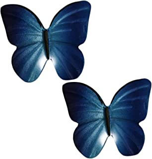 Kylin Express Pack of 2 Beautiful Butterfly Cabinet Knobs Drawer Pull Handles,No.6