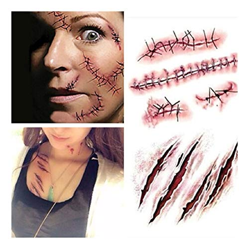 Maquillaje Con Sangre marca ZKWSJMJ