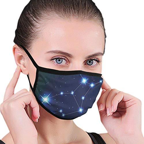 Jungfrau Sternbild Sterne Raumdruck Der Gesichts- und Mundschutz schützt Sie vor Staub und seltsamen Gerüchen