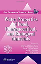 Water Properties of Food, Pharmaceutical, and Biological Materials: 9