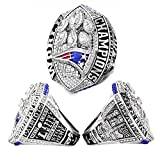 Super Bowl 1966-2019 Replica Championship Ring (US Größe 11) New England Patriots Philadelphia Eagles Denver Broncos Chicago Bears Seattle Seahawks Green Bay Packers (11, 2018 New England...