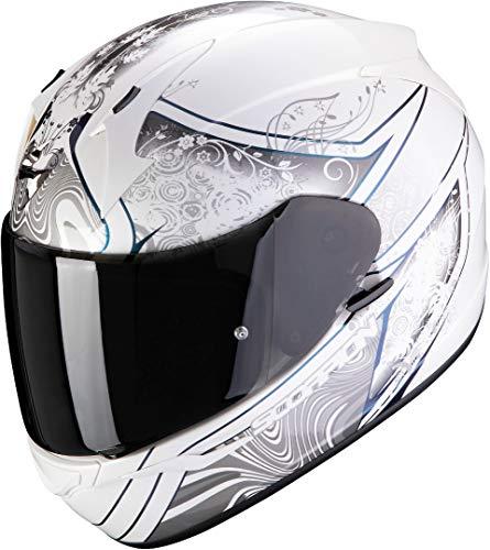 Scorpion Herren NC Motorrad Helm, Weiss/Schwarz, M