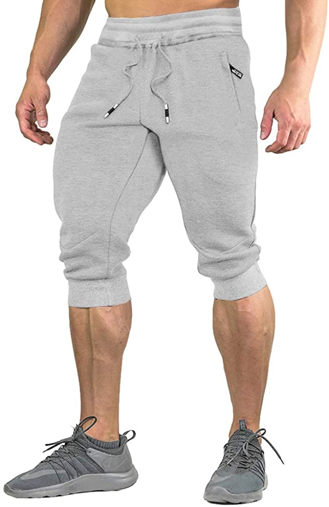 excellence FASKUNOIE Men's Cotton Casual Limited time trial price Shorts 3 Pants 4 Capri Brea Jogger