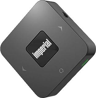 IMPERIAL BART mini Bluetooth 5.0 odbiornik audio (odbiornik sygnałów audio przez Bluetooth, kod APTX, optyczny audio/wejśc...