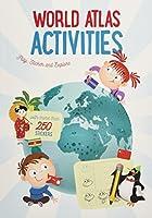 World Map Sticker Book: The World