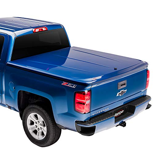Undercover Lux One-Piece Truck Bed Tonneau Cover | UC3076L-PS2 | Fits 09-20 Dodge Ram 1500,2500,3500 Std/Quad/Mega PS2 - Bright Silver 6'4' Bed