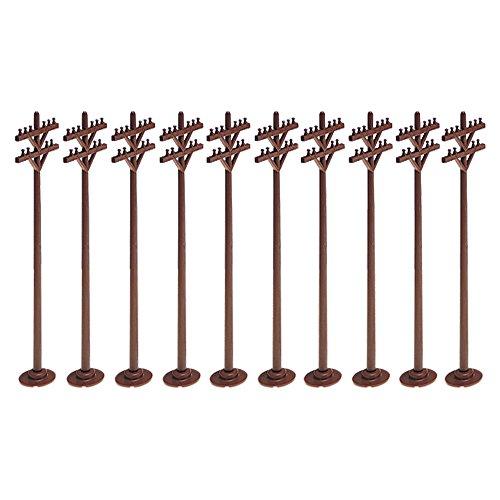 Lionel Model Train Accessories, Telephone Poles (Set of 10) (662181)