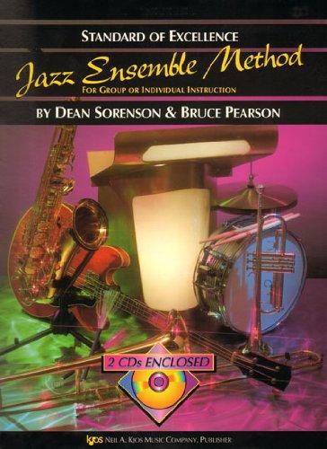 Standard Of Excellence: Jazz Ensemble Method (Baritone Saxophone) (Book, CD): Noten, CD für Bass-Saxophon, Ensemble (Jazz)