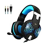 KOTION EACH G1000 3.5mm Professional Bass Stereo PC Gaming Headset Noise Isolation Over-Ear