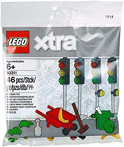 Lego xtra 46 teiliges Set 40311 - Strassenthema