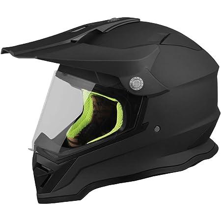 Crosshelm Motocross Enduro Rallox 819 Helm Größe Xl Motorradhelm Integralhelm Schwarz Matt Mit Visier Auto