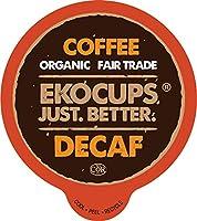 EkoCupsデカフェ グルメ コーヒー、40個 (並行輸入)