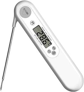 BIlinli Sonda Digitale LCD Pieghevole Termometro Alimentare per Cucina BBQ Barbecue Grill Carne Olio Acqua Strumenti di Co...