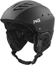 PHZ. Ski Helmet, Snowboard Helmet - Adjustable Venting, Goggles and Audio Compatible, Removable Liner and Ear Pads, Safety-Certified Snow Sports Helmet for Men, Women & Youth
