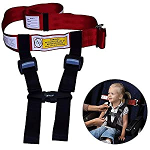 Child Airplane Safety Travel Harness – The Safety Restraint System Will Protect Your Child from Dangerous. – Airplane Kid Travel Accessories for Aviation Travel Use