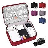 Alena Culian Electronic Organizer Travel Universal Cable Organizer Electronics Accessories...