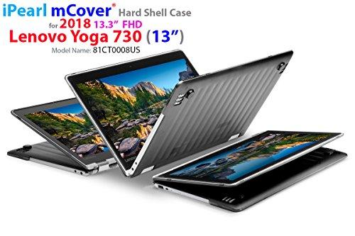 mCover fodera rigida/copertura/Caso duro per Lenovo Yoga 720-13IKB Notebook 13.3 Pollici computer portatile (Nero)