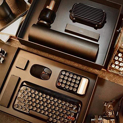 ZGQA-GQA Business Suit Wireless-Tastatur, Wireless-Tastatur, Lautsprecher, Taschenrechner, Maus, Tastatur, Handkissen, Business-Anzug