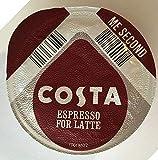 48 x Tassimo Costa Espresso for Latte T- Discs, Sold Loose