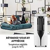 KLARSTEIN New Breeze ECO - Climatiseur Mobile, Déshumidificateur, Ventilateur, 10000BTU/h, 2,9KW,...