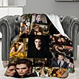 Throw Blanket Fleece Ultra-Soft Warm Sofa Bed All Seasons for Kids Adult Bedroom Living Room 50x40 Inch